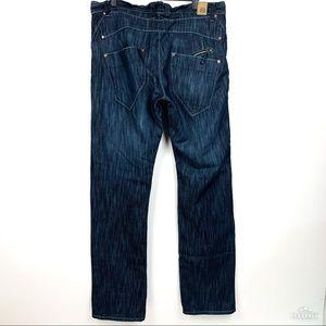 Jordan Craig | Darkwash Zip Detail Jeans EUC 36x34